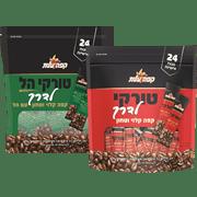 <!--begin:cleartext-->₪ קנה ממגוון קפה טורקי לדרך 24 * 7 גרם עלית במחיר 17.90 ₪ במקום 18.90<!--end:cleartext-->