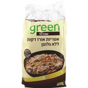מקלוני אורז ללא גלוטן גרין 454 גרם שופרס
