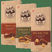 <!--begin:cleartext-->קנה ממגוון שוקולד פנדה 100 גרם 100 גרם ,קבל 15% הנחה<!--end:cleartext-->
