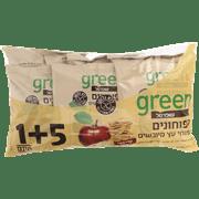 תפוחונים גרין 1+5 ללא גלוטן 6*22גרם שופר
