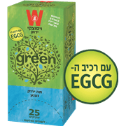 תה ירוק ויסוצקי 25 שקיקים
