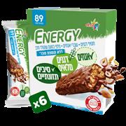 <!--begin:cleartext-->₪ קנה 2 יחידות ממגוון חטיפי אנרגי ללא תוספת סוכר 6 * 20 גרם במחיר 25<!--end:cleartext-->
