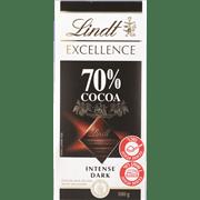 שוקולד לינדט אקסלנס 50-100 גרם