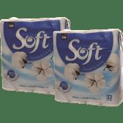 <!--begin:cleartext-->₪ קנה 2 יחידות נייר טואלט סנו סופט לבן 32 גלילים במחיר 52<!--end:cleartext-->