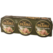 טונה בשמן זית פיל טונה 3 * 80 גרם