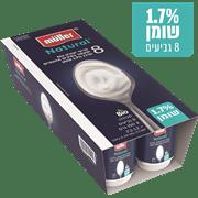 <!--begin:cleartext-->₪ קנה ממגוון יוגורט ממותג בינלאומי רגיל מולר במחיר 13.90 ₪ במקום 17.90<!--end:cleartext-->