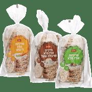 <!--begin:cleartext-->₪ קנה 3 יחידות ממגוון פריכיות אורז שופרסל 100 גרם במחיר 12<!--end:cleartext-->