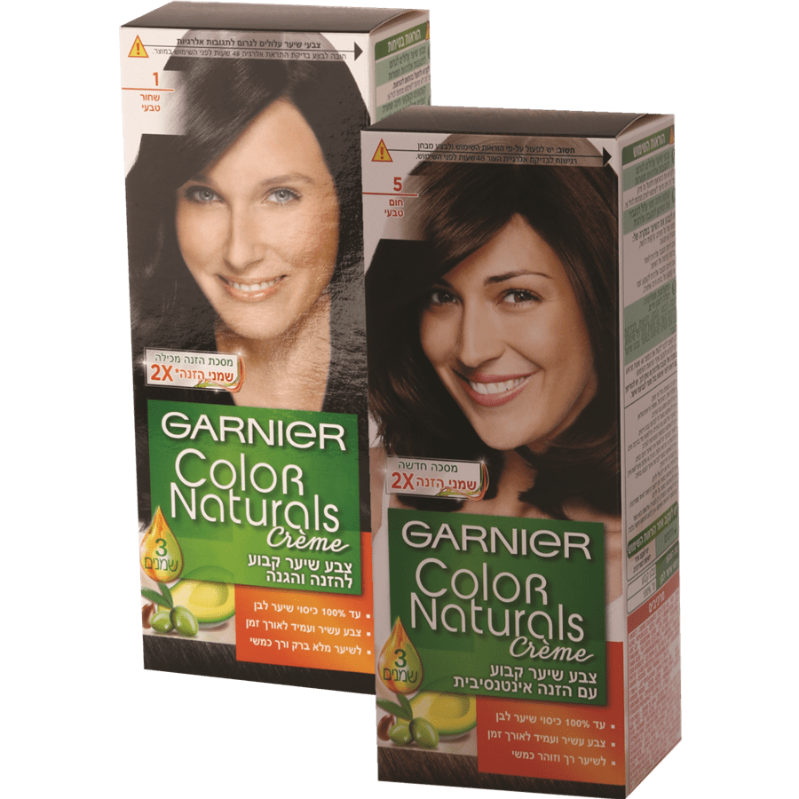 <!--begin:cleartext-->₪ קנה 2 יחידות ממגוון צבע לשיער קולור נטורלס גרנייה GARNIER צב במחיר 30<!--end:cleartext-->