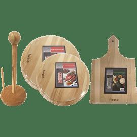 סט מוצרים מעץ למטבח