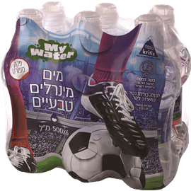 מים מינרלים כדורגל פקק