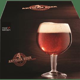 סט 4 כוסות בירה/שתייה