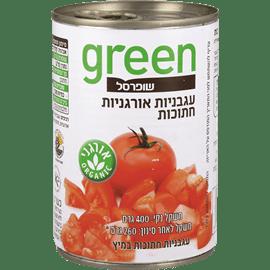 עגבניות חתוכות אורג גרין
