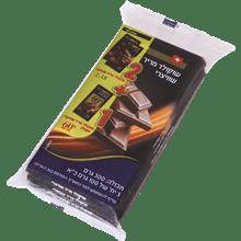 שוקולד 2יח מריר+ 1יח 60%