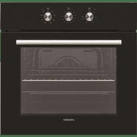 תנור בנוי זכוכית שחורה