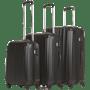 סט 3 מזוודות קשיחות ABS