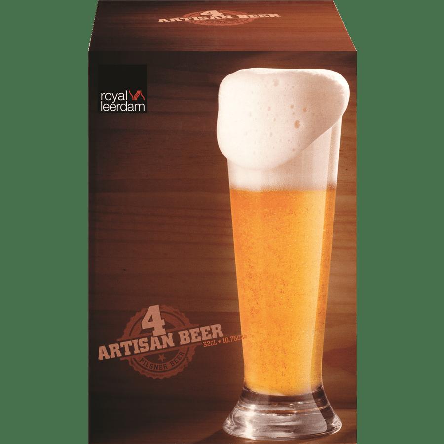 סט 4 כוסות שתייה/בירה