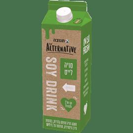 משקה סויה בטעם טבעי לייט