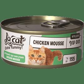 לה קט מעדן מוס עוף