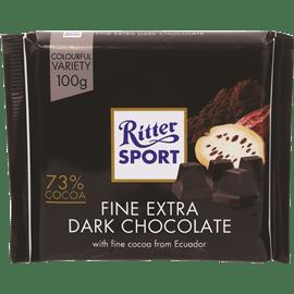 שוקולד ריטר מריר %73