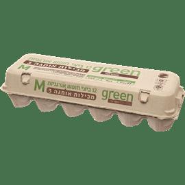 ביצים אורגניות M+אומגה 3