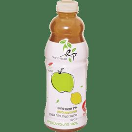 מיץ תפוח עם נגיעות לימון