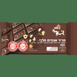 שוקולד מריר עם אגוזים