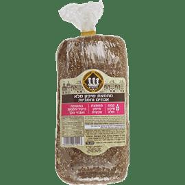 לחם מחמצת שיפון+אגוזים