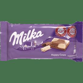 שוקולד מילקה חום לבן