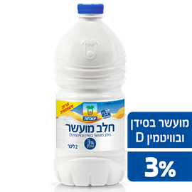 חלב מועשר יטבתה 3% כד