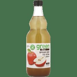חומץ תפוחים מלא אורגני