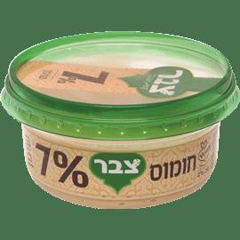 סלט חומוס 7%