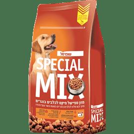 מיקס מזון יבש לכלבים