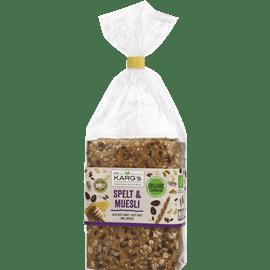 לחם אורגני כוסמין מוזלי