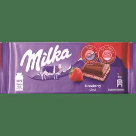 שוקולד מילקה קרם תות
