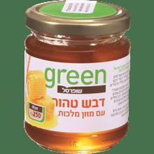 דבש עם מזון מלכות גרין