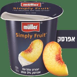 יוגורט+חתיכות אפרסק 3%