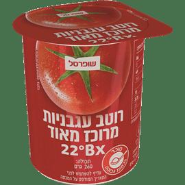 רסק עגבניות מרוכז 22%
