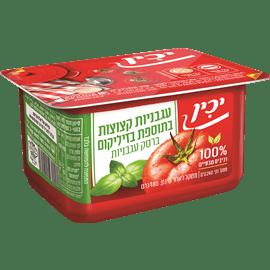 עגבניות מרוסקות בזיליקום