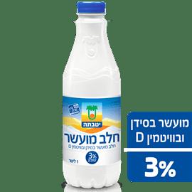חלב יטבתה מועשר3% בקבוק