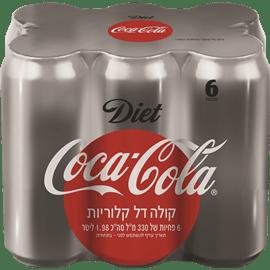 קוקה קולה דיאט פחיות