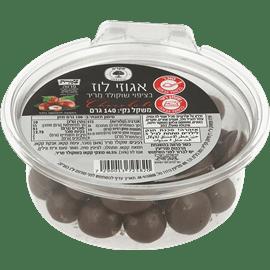 אגוזי לוז בשוקולד מריר