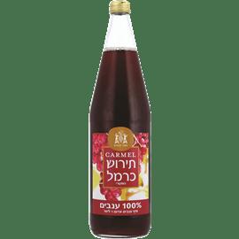 מיץ ענבים תירוש אדום