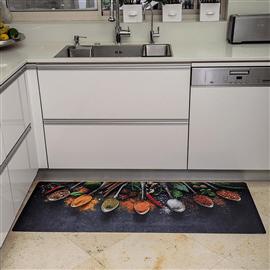 שטיח PVC למטבח - תבלינים
