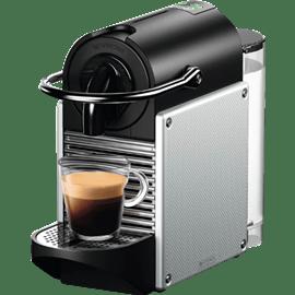 מכונת קפה PIXIE כסוף