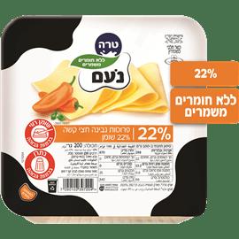 גבינה צהובה נעם דק דק22%