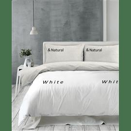 סט מצעים White&Natural
