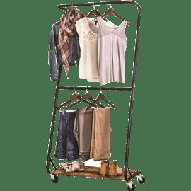 מתלה בגדים נייד כפרי