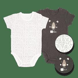 בגדי גוף שרוול קצר 6-12
