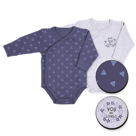 בגדי גוף מעטפת כוכבי3-6