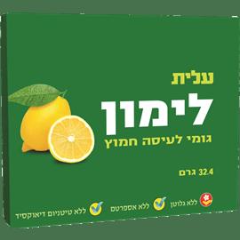 מסטיק מאסט לימון